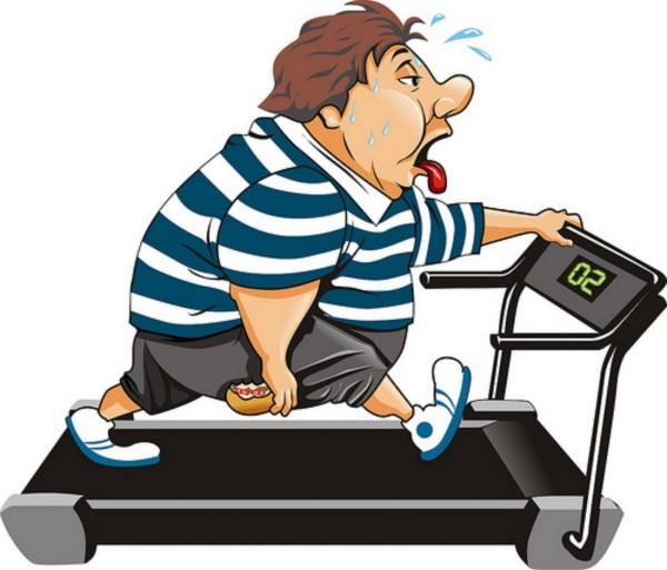 obesidade esteira